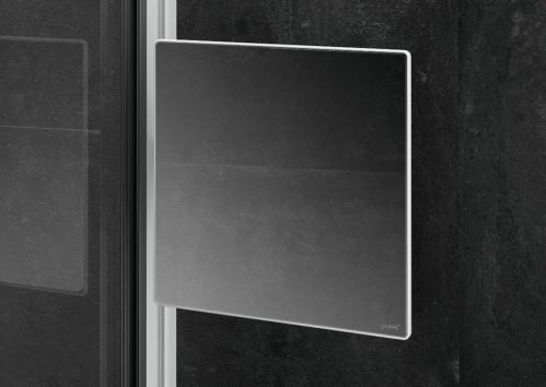 Hüppe Select+ Mirror - zrcátko, stříbrná matná