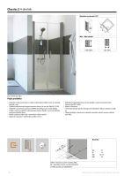 Hüppe Classics 2 4-úhelník lítací dveře pro niku