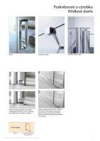 Hüppe Classics 2 4-úhelník boční stěna pro křídlové dveře