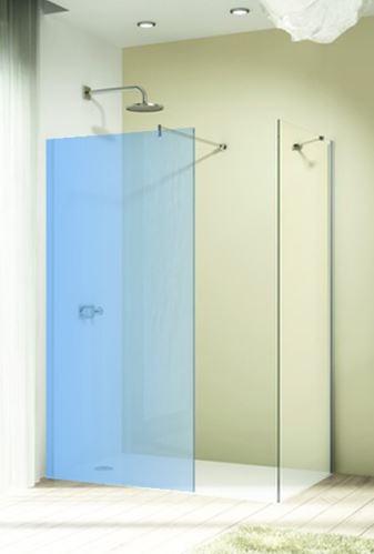 Hüppe Design elegance 4-úhelník boční stěna samostatně stojící