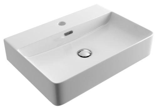 Umyvadlo na desku RIMA 2.0 60X42 cm bílé