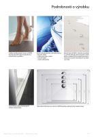 Hüppe EasyStep sprchová vanička 4-úhelník barva vaničky: bílá