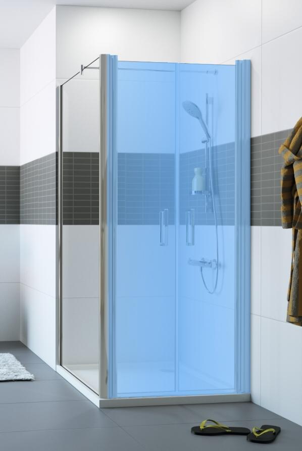 Hüppe Classics 2 4-úhelník boční stěna pro lítací dveře