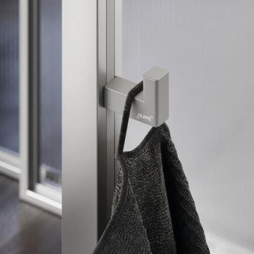 Hüppe Select+ Hook - háček, stříbrná matná