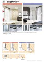 Hüppe Design elegance 1/4-kruh posuvné dveře
