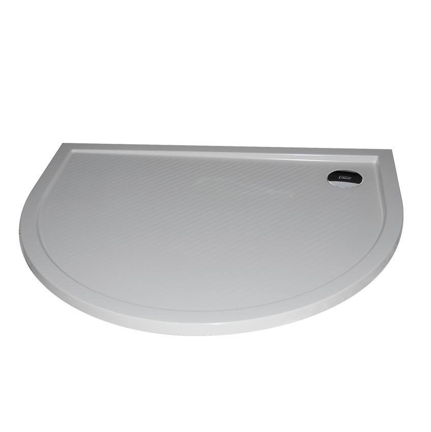 Hüppe Purano sprchová vanička 1/2-kruh barva vaničky: bílá
