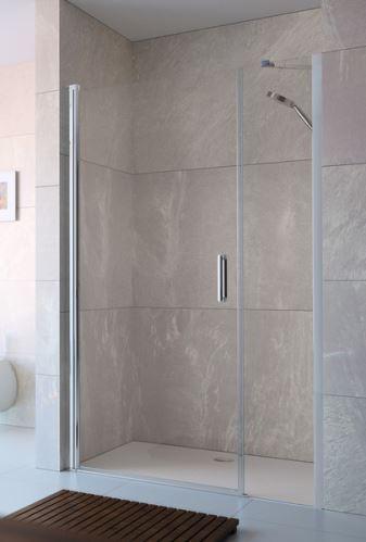 Hüppe Design elegance 4-úhelník křídlové dveře s protisegmentem do niky