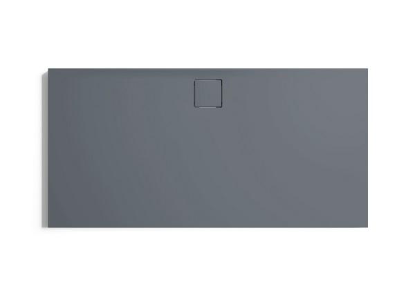 Hüppe EasyFlat sprchová vanička 4-úhelník barva vaničky: šedá matná