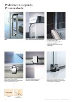 Hüppe Classics 2 4-úhelník boční stěna pro posuvné dveře
