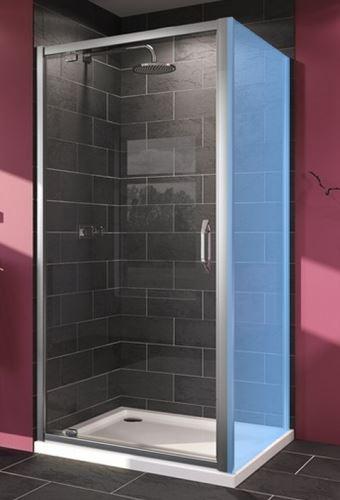 Hüppe Next pivotové dveře pro boční stěnu/do niky