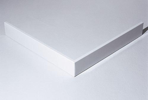 Hüppe Purano kryt sprchové vaničky 4-úhelník barva krytu: bílá