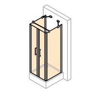 Hüppe Design pure 4-úhelník u-kabina lítací dveře