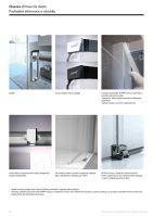 Hüppe Classics 2 4-úhelník lítací dveře pro boční stěnu