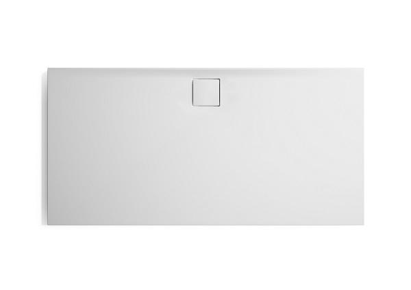 Hüppe EasyFlat sprchová vanička 4-úhelník barva vaničky: bílá